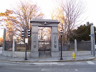 Touro Cemetery - Image: Touro Cemetery in Newport, RI, USA