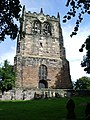 Tower, St Peter and St Paul's Church, Ormskirk - geograph.org.uk - 536424.jpg
