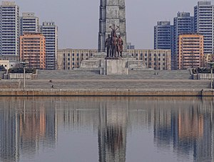 Juche Tower - Image: Tower Of Juche Idea Symmetry 2014