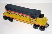 木製玩具火車