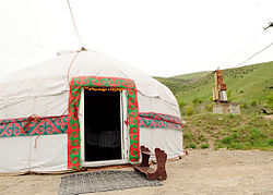Traditional Kyrgyz nomadic Yurt.jpg