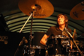 Todd Trainer - Trainer performing with Shellac in São Paulo, 2008