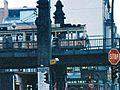 Tram 3344 at Türkischer Basar in Berlin 22 December 1990.jpg