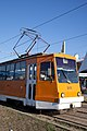 Tram in Sofia in front of Central Railway Station 2012 PD 081.jpg