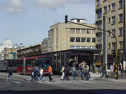 How to get to Calle 19 with public transit - About the place