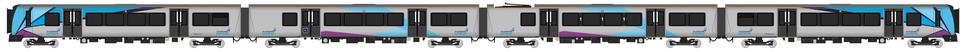 TransPennine Express Class 350 Diagram
