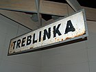 Treblinka Concentration Camp sign by David Shankbone