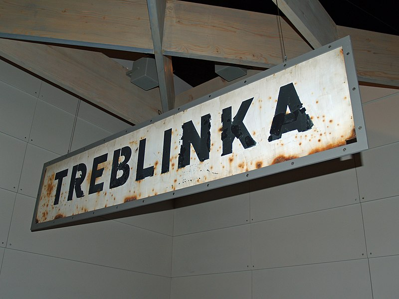Fil:Treblinka Concentration Camp sign by David Shankbone.jpg