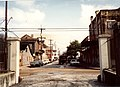 Treme New Orleans 1991 Amstrong Park St Philip Gate 01.jpg