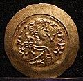 Tremisse di ariperto II con s. michele, ticinum-pavia 701-712, 01.jpg