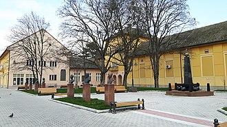 Apatin - Image: Trg slobode, Apatin