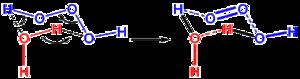 Trioxidane - Image: Trioxidane decomposition