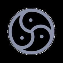 Des BDSM Emblems Steht F&252r Das Dreiteilige Safe Sane Consensual