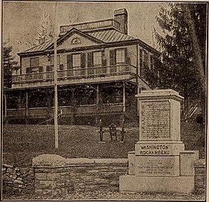 Hyatt-Livingston House - 1904 image of the house