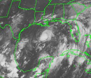 Tropical Storm Hermine (1998) - Tropical Storm Hermine on September 19