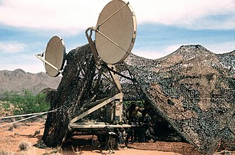 Tropospheric scatter - US Army TRC-170 Tropo Scatter Microwave System