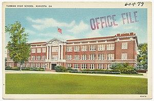 Tubman High School - Image: Tubman High School, Augusta, GA (8343904366)