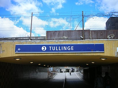 How to get to Tullinge Station with public transit - About the place