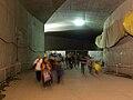 Tunel Blanka, přivaděč do hlavního tubusu.jpg