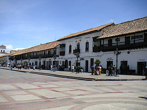 Boyacá Department - Tunja, capital of Boyacá