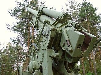 76 mm air defense gun M1931 - Image: Tuulimäki anti aircraft memorial 76 mm air defense gun M1931