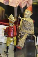 Two antique toy wind-up clowns (25202898544).jpg