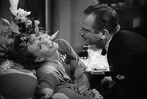 "George Cukor - Greta Garbo and Melvyn Douglas in ""Two-Faced Woman"" (1941)"