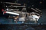 U.S. Air Force CV-22 Osprey tiltrotor aircraft hangs in the anechoic chamber at J-PRIMES (6841251094).jpg