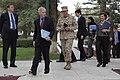 U.S. Ambassador to Afghanistan Ryan Crocker, second from left, and U.S. Marine Corps Gen. John Allen, center, the commander of the International Security Assistance Force and U.S. Forces-Afghanistan, attend 111020-S-PA947-454.jpg