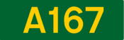 A167 road shield