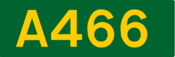 A466 road shield