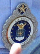 U.S. Air Force Command Master Recruiter Badge