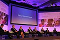 USAIDs Dr Raj Shah (far left), chairs the Donor Commitments panel at the London Summit on Family Planning (7555137802).jpg