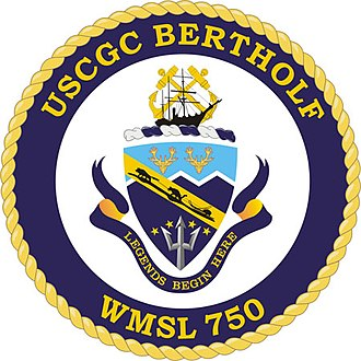 USCGC Bertholf - Image: USCGC Bertholf Crest
