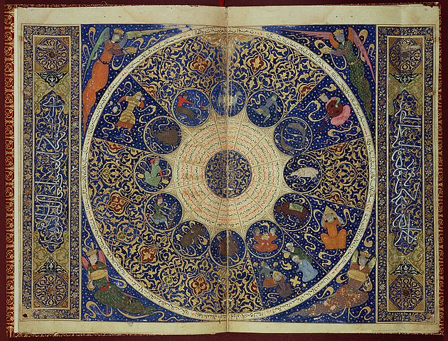 Horoscope Chart: USE L15229 Horoscope from 7The book of birth of Iskandar ,Chart