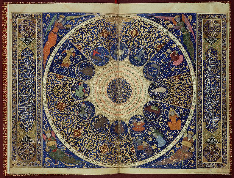 """File:USE L15229 Horoscope from 'The book of birth of Iskandar"""" Wellcome L0025988.jpg"""