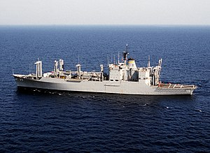 Ammunition ship - USNS Kilauea (T-AE 26), a typical contemporary ammunition ship