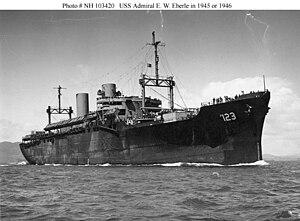USS Admiral E. W. Eberle (AP-123) - Image: USS Admiral E.W.Eberle (AP 123)
