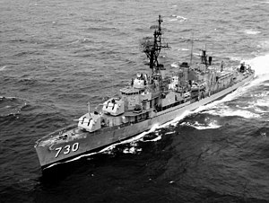 USS Collett - Collett in July 1966.