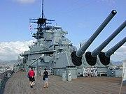 USS Missouri HNL