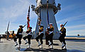 USS Mount Whitney Battle of Midway ceremony 130605-N-PE825-010.jpg