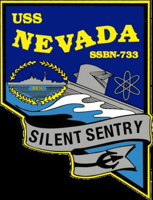 USS Nevada (SSBN-733) - Image: USS Nevada SSBN 733 COA