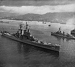 USS Roanoke (CL-145) off Sasebo, Japan, in 1956.jpg