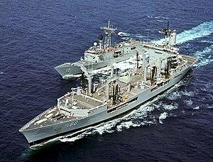USS Willamette (AO-180) and Duncan (FFG-10)
