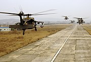US Choppers in Korea