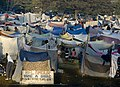US Navy 100119-N-6266K-020 Hundreds of displaced Haitians live in make-shift homes outside Gheskio Field Hospital in Haiti.jpg
