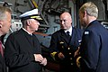 US Navy 100819-N-8273J-066 Chief of Naval Operations (CNO) Adm. Gary Roughead, left, speaks with Rear Adm. Anders Grenstad, Chief of Staff of the Royal Swedish Navy.jpg