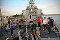US Navy 101028-N-8590G-004 Lt. Cara Addison, navigation officer of the guided-missile destroyer USS The Sullivans' (DDG 68).jpg