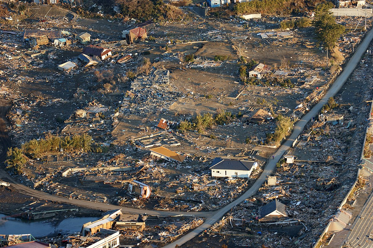 List of cities and towns severely damaged by the 2011 Tōhoku ...