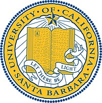 The seal of the University of California, Santa Barbara 1868